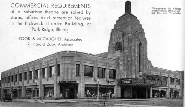 As seen in The American Architect, 1928