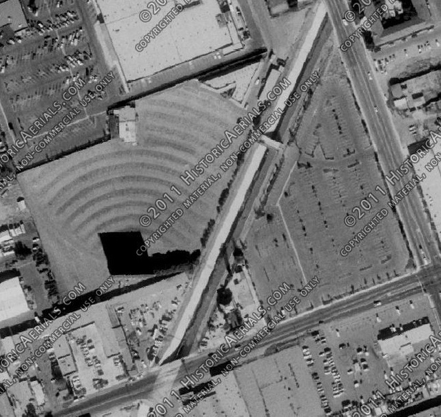 Aerial Photo 1980 Escondido Drive-In (2nd Location)