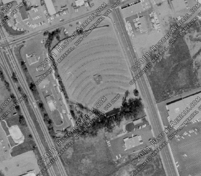 Aerial Photo 1964 Escondido Drive-In (Location 1)