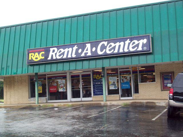 now a Rent A Center