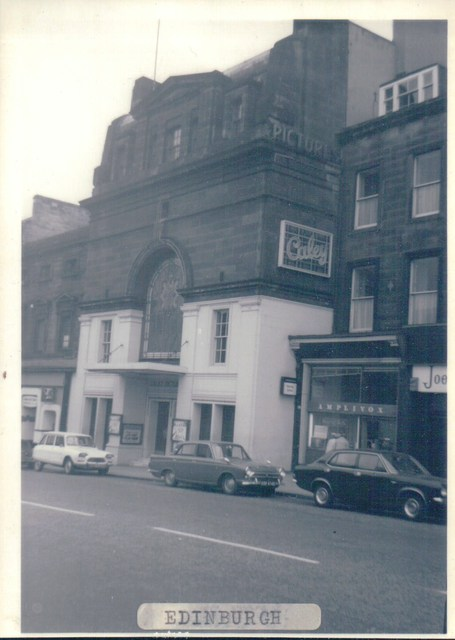 Caley Picture House, Lothian Road, Edinburgh