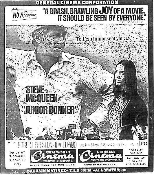 """Junior Bonner"""
