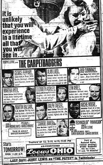 """The Carpetbaggers"""