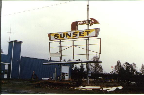 Sunset marquee