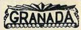 GRANADA Theatre l(Racine, Wisconsin) logo, 1930s.