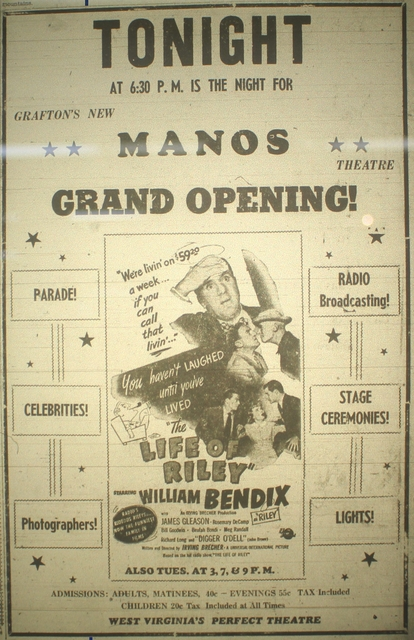 Grafton Manos Grand Opening - Newspaper Ad