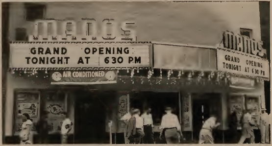 Grafton Manos Grand Opening - July 1949
