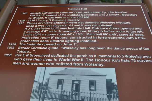Wolseley Institute