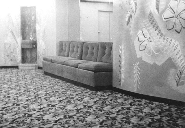 Westend Theatre mezzanine ladies' lounge