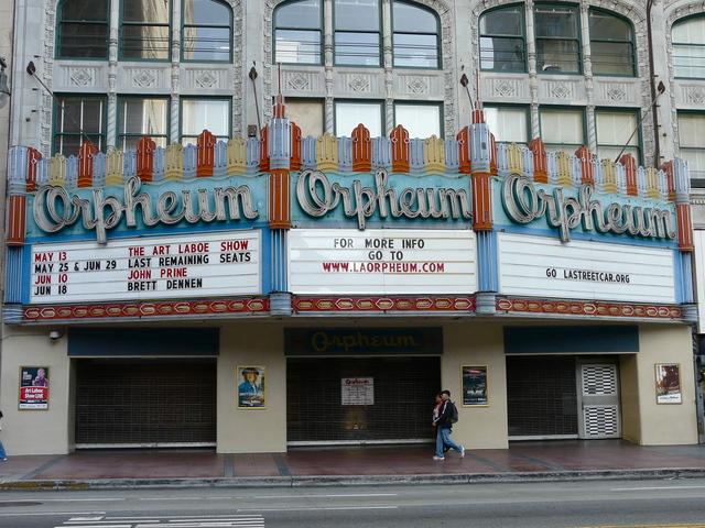 Orpheum Theatre 2011