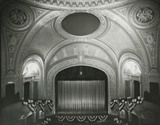 Warner Theatre proscenium from balcony.  1943.
