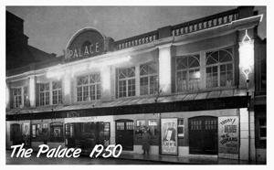Palce Cinema Aldershot 1950