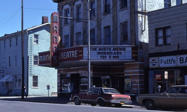 Manos Theater Indiana Pennsylvania 1979