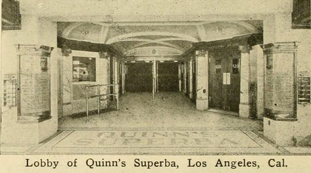 Quinn's Superba Theatre, 1914