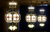 GATEWAY Theatre chandeliers by Victor S. Pearlman (Kevin Poirer photo)