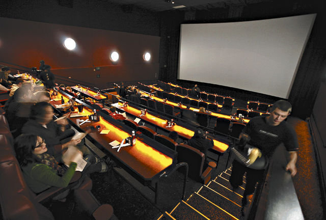 AMC is unique in the number of successful, stadium- seat megaplexes in locations that could accommodate this large number of new IMAX® theatres. Further, AMC's confidence in.
