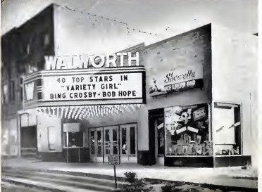 WALWORTH Theatre, Walworth, Wisconsin (1947)