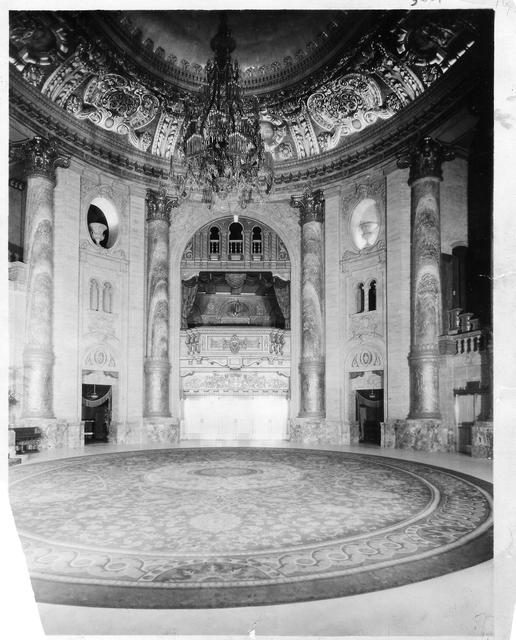 Roxy Theatre Grand Foyer  also known as the Rotunda