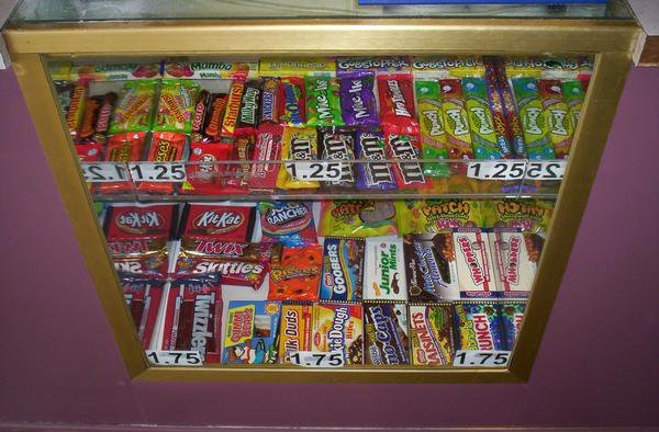 Candy Cabinet
