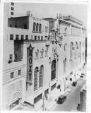Roxy Theatre 50th Street view 1927