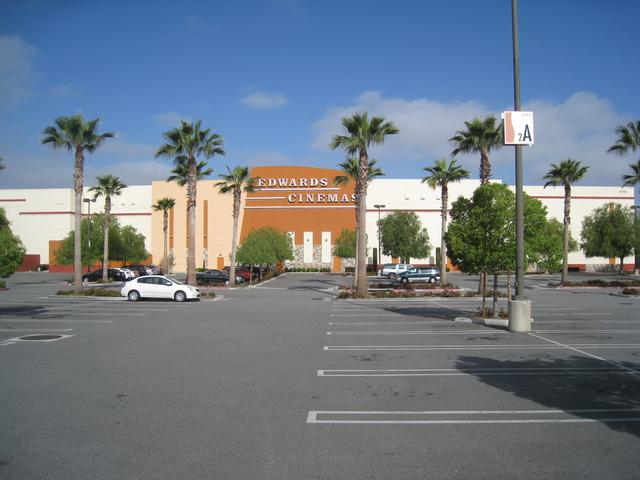 Edwards Cinemas parking lot