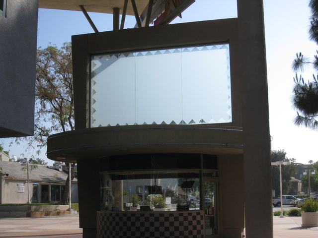 Back Side of the Box Office for the Ultrastar Tower 10 Theater