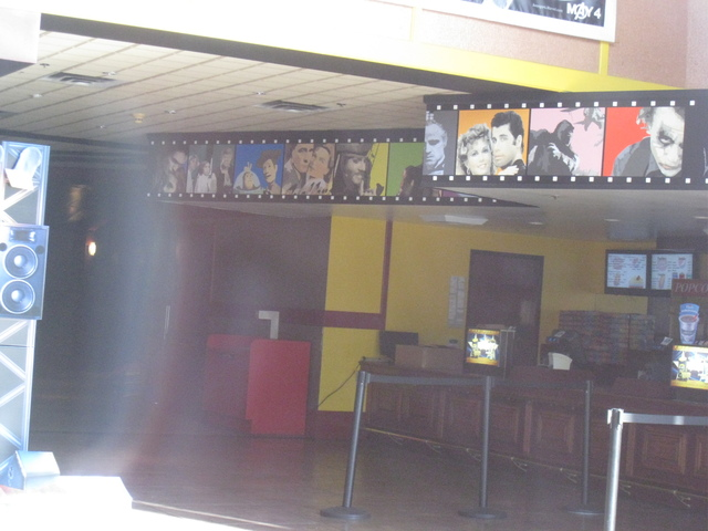 Snack bar at the Ultrastar Tower 10 Cinemas