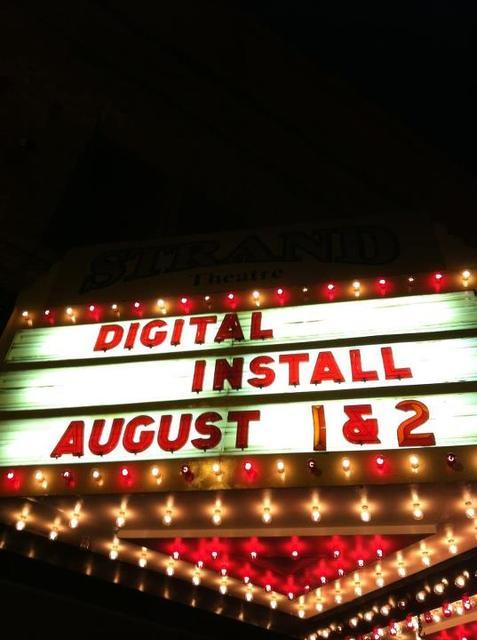 Going digital!