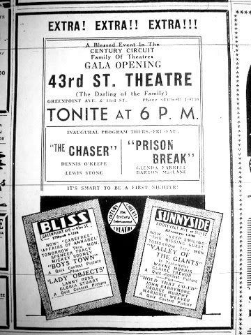 43rd Street Theatre