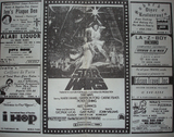Menlo Park Cinema-  Ad1 - Star Wars, summer 1977
