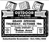 "ABC Theatre ""Grand Opening"" Ad!"