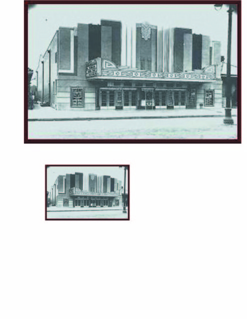 Carrollton Theater Before Early 60's fire and 1968 Renovation