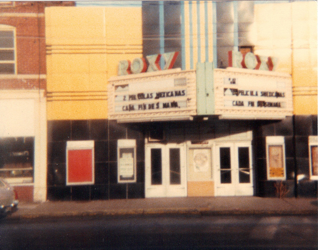 Roxy Theater, Moline IL about 1983