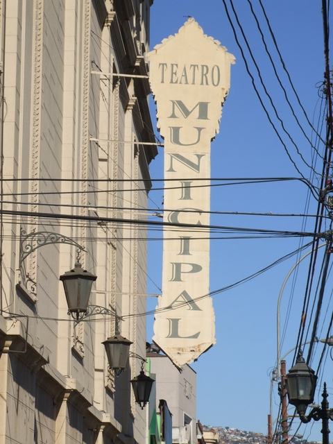 Teatro Municipal, Valparaiso 2008
