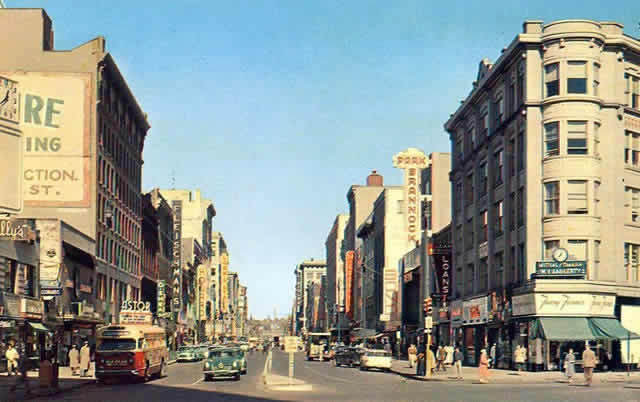 Salina Street Syracuse NY  1946