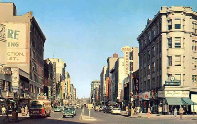 Salina Street Syracuse NY  1946