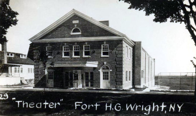FORT H. G. WRIGHT Theatre, Fishers Island, New York.