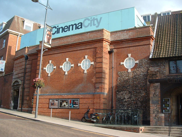 Cinema City Norwich auditoria exterior 2009
