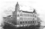 Old Print of building