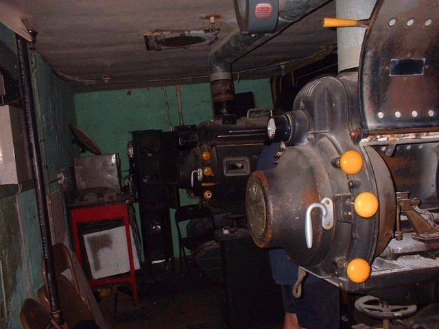 Yale Theater, Oklahoma City Projector Rm.