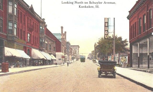 Site of the Future Luna Theater circa 1910