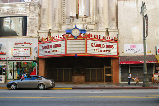 Los Angeles Theatre Marquee