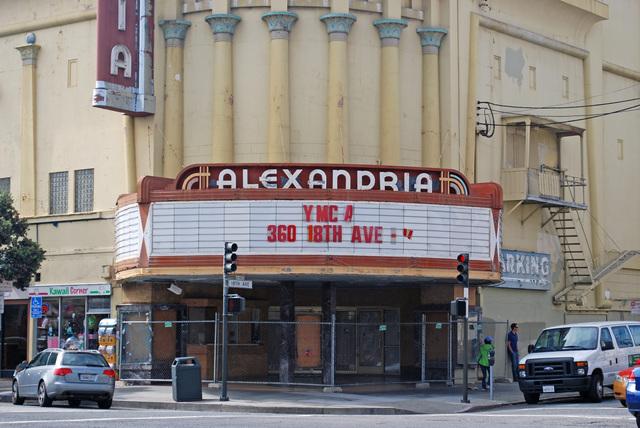 Alexandria Theatre Marquee