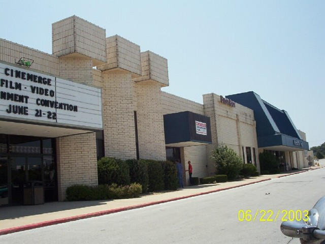 Front of the Theater
