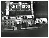 Evening view of Criterion Theater, Bridgeton NJ.