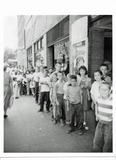 Opening Day lines at the Stanley Theater