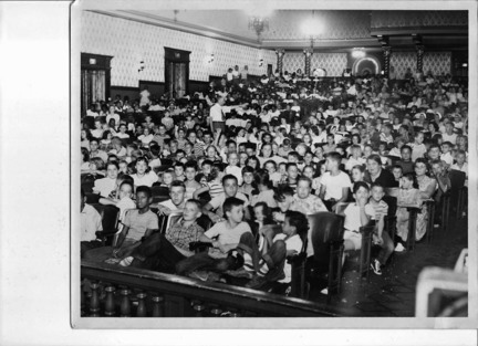 Stanley Theater, packed auditorium, Opening Day