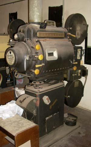 Azteca Theater Simplex Projectors