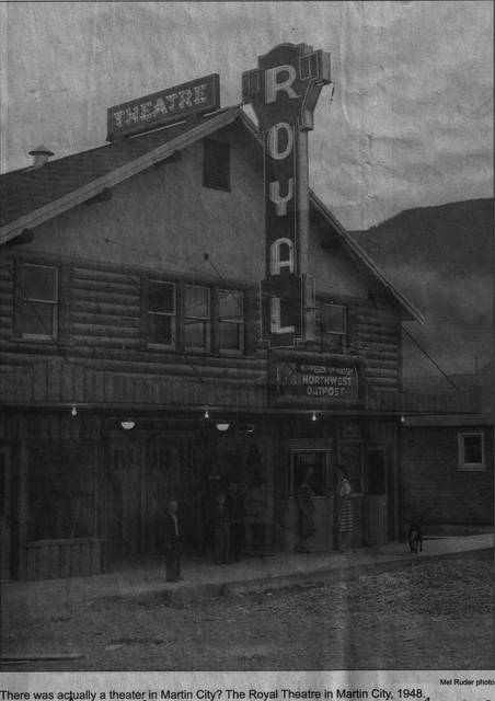 Royal Theater - Martin City, MT. - circa. 1948