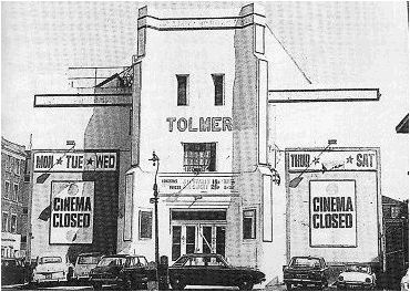 finest selection 09538 a7a62 Tolmer Cinema in London, GB - Cinema Treasures